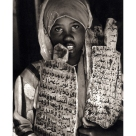 Learning the Koran in war torn Somalia 2006,Mark Pearson,Platinum Palladium Print
