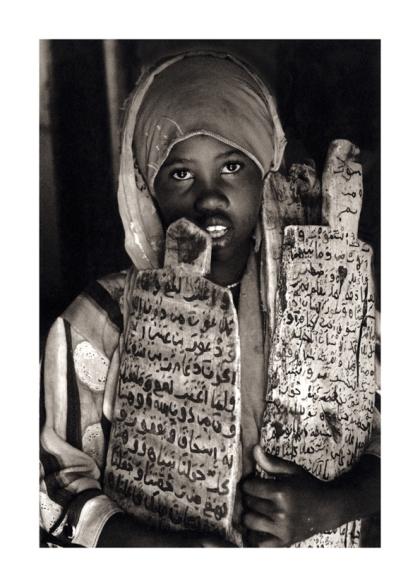Learning the Koran in war torn Somalia 2006,Mark Pearson,Platinum Palladium Print
