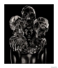 The Painted Skulls II,Rankin/Damien Hirst,Platinum Palladium Print,2011, DC Editions
