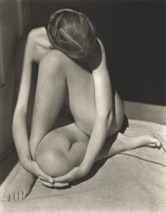 Charis, Edward Weston 1936, Platinum Palladium Print 9 1/2 x 7 1/2 inches